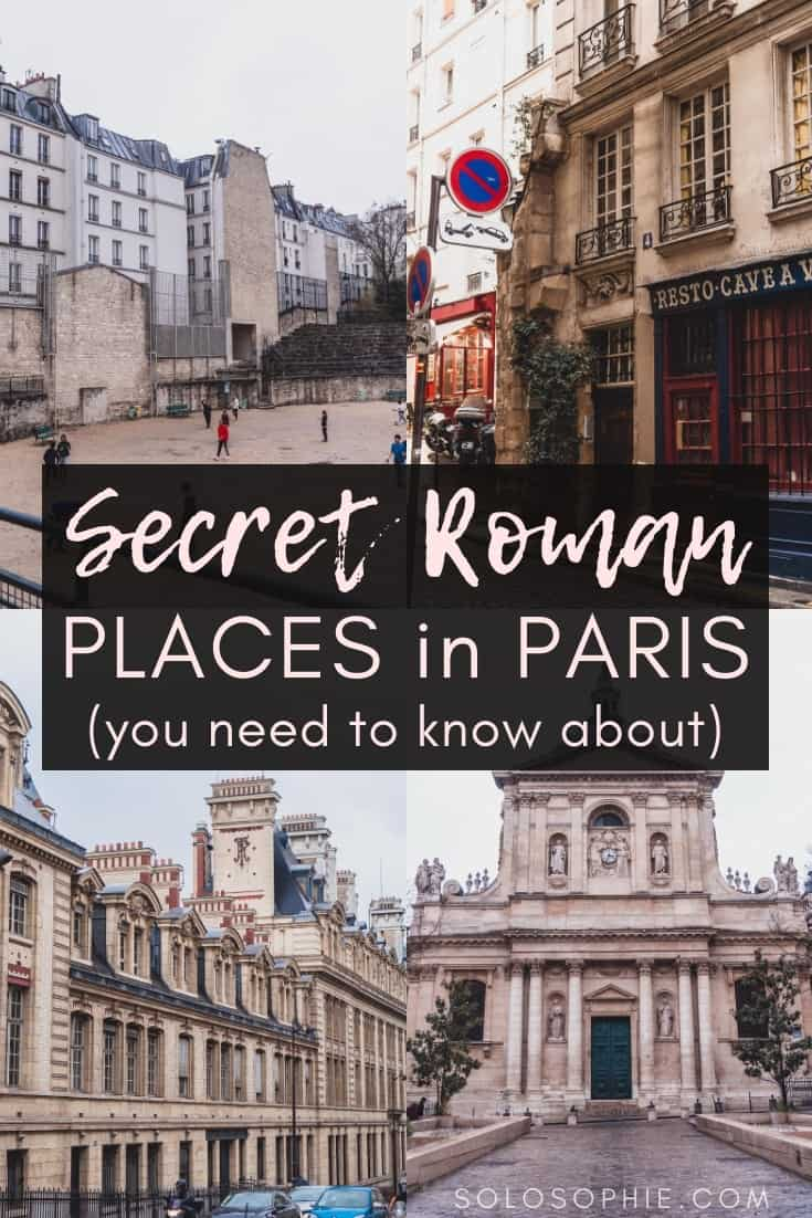 In Search of Roman Paris: Ancient & Historic Roman sites in Paris. Here's your complete guide to the arenes de lutece, thermes de cluny, and more Roman locations in Paris, France