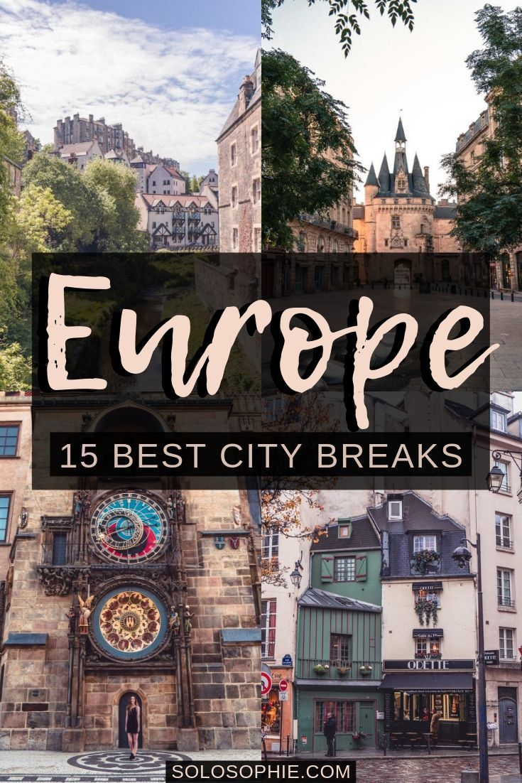 Looking for a European weekend escape? Here's your ultimate guide to the best city breaks in Europe that you need to take ASAP!
