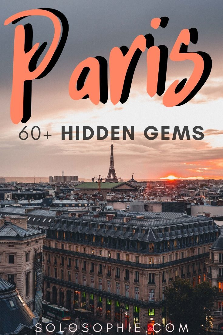 Paris Hidden gems: Are you looking for the best of unusual things to do in Paris France? Your complete guide to the top hidden attractions in Paris
