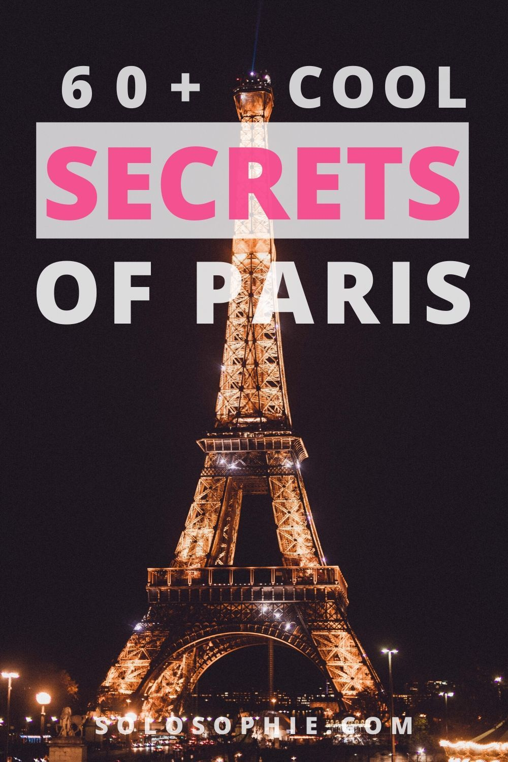 Paris hidden gems: looking for the most unusual things to do in Paris France? Here's your ultimate guide to the top secret destinations and places to visit in the French capital