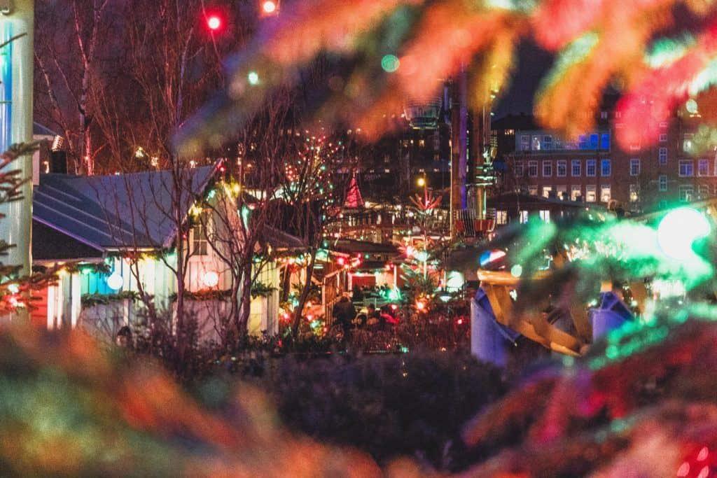 Liseberg Christmas Market, Gothenburg, Sweden