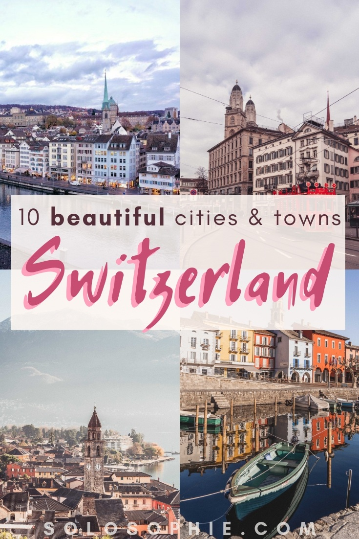 10 Most Beautiful and top towns, villages, and cities in Switzerland to visit. Here's your guide to the best locations and destination in the landlocked country (Bern, Poschiavo, Chur, etc)