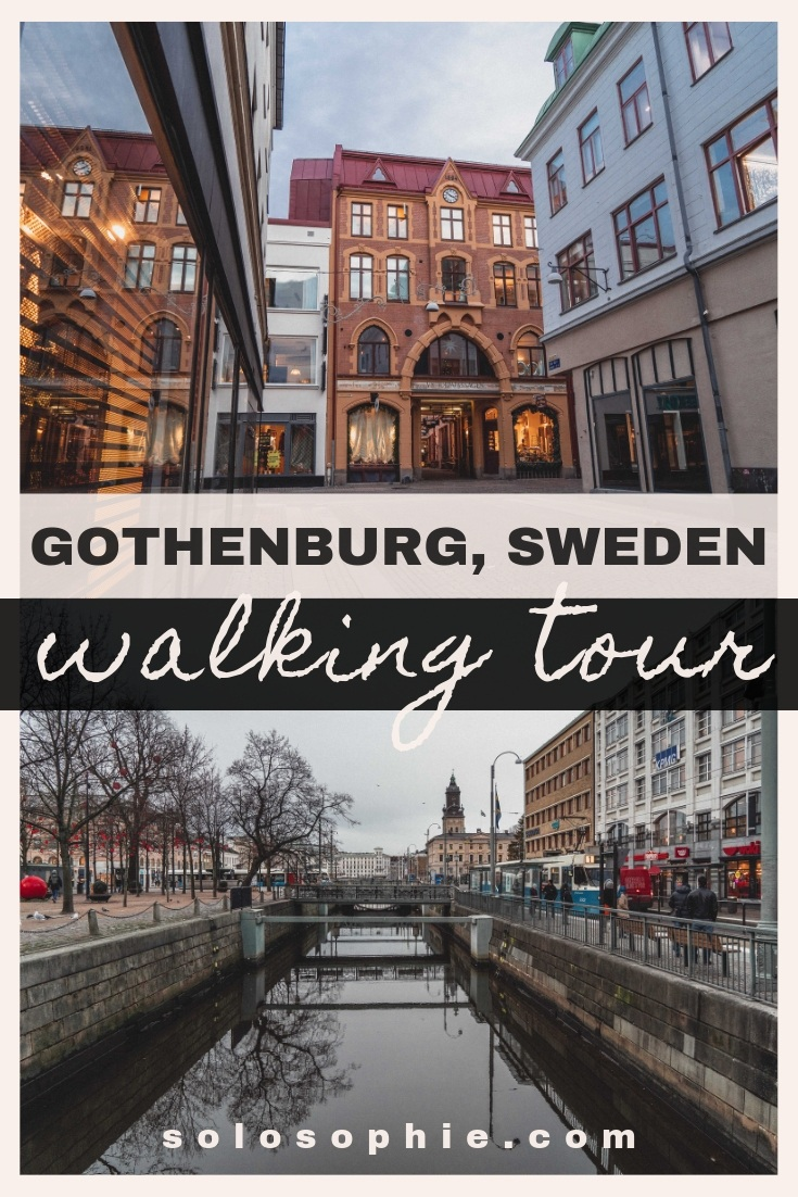 Free and self-guided Gothenburg walking tour. Looking for the best things to do in the Swedish city of Gothenburg? How to get to know the city on a local level (Skansen Kronan, Haga District)