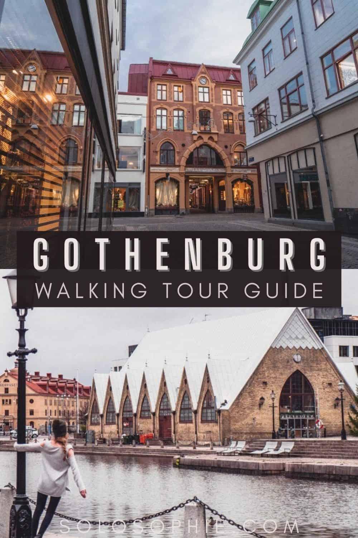Gothenburg Sweden/ Free & Self-Guided Gothenburg Walking Tour
