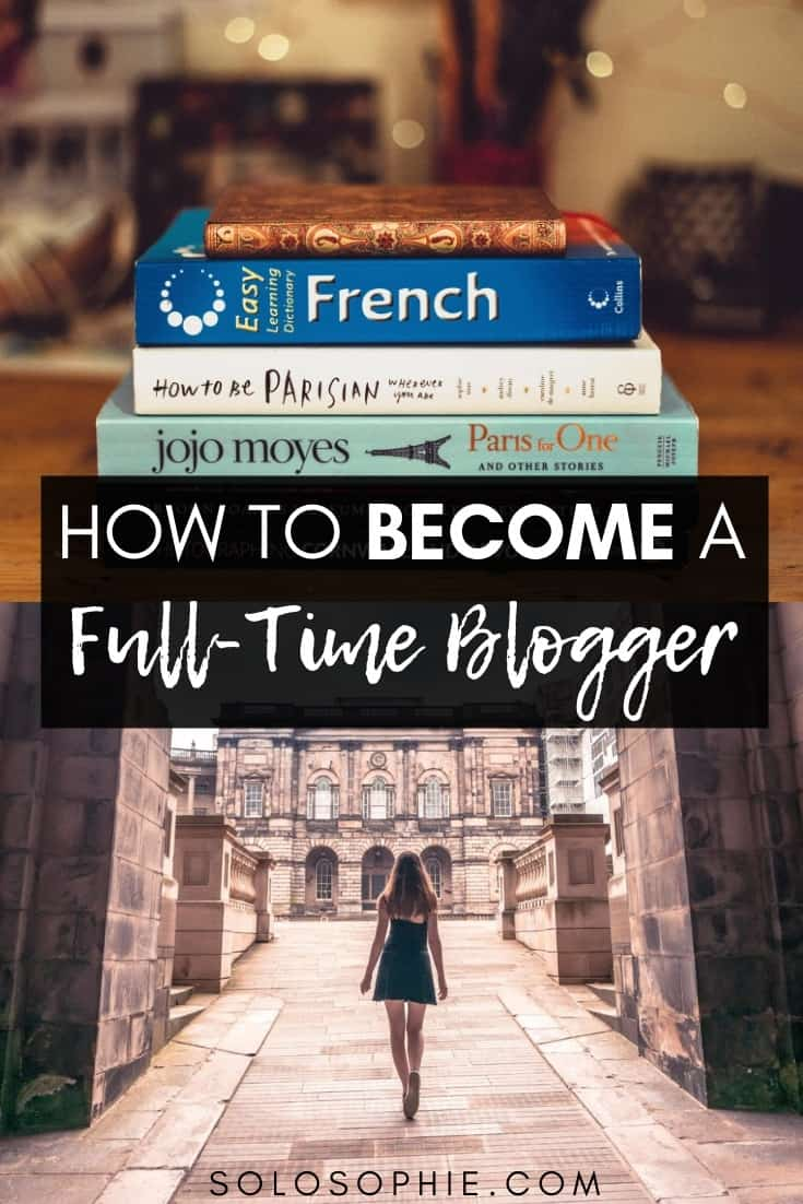 How to Become a Full Time Blogger (and get paid!) Tips, tricks, and advice for creating a blog, growing an audience, gaining blog traffic, and how to quit your job to blog and earn money!