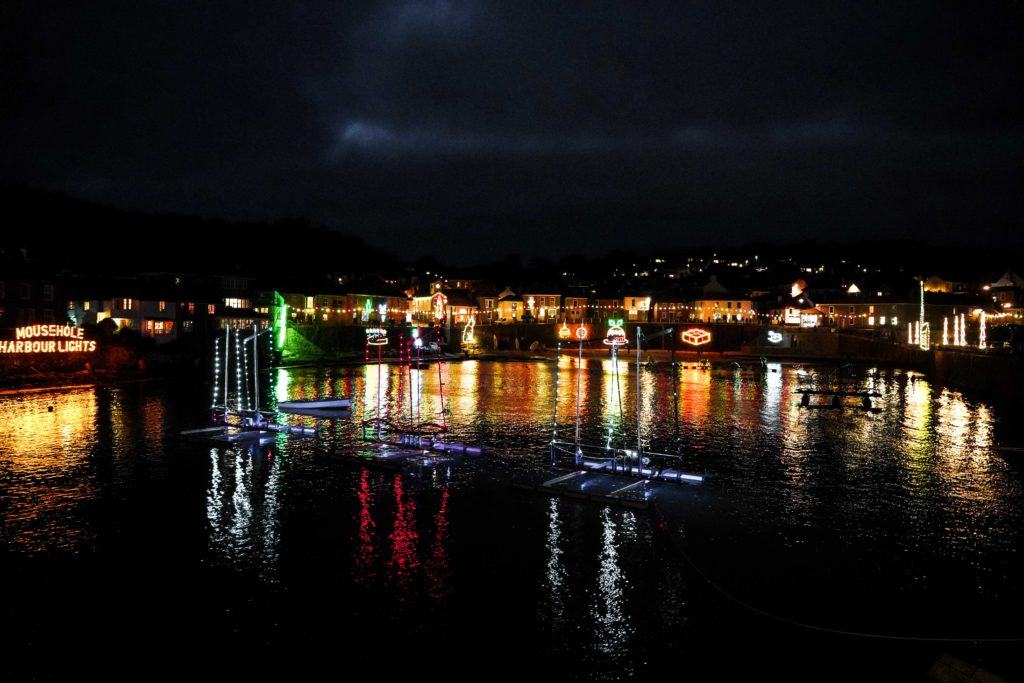 Mousehole Harbour Lights: A Cornish Christmas in Southern Cornwall, England