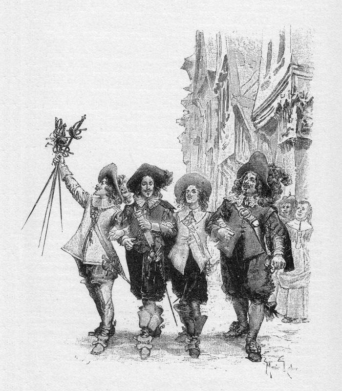 In Search of the Real Life d'Artagnan: Inspiration for the Three Musketeers