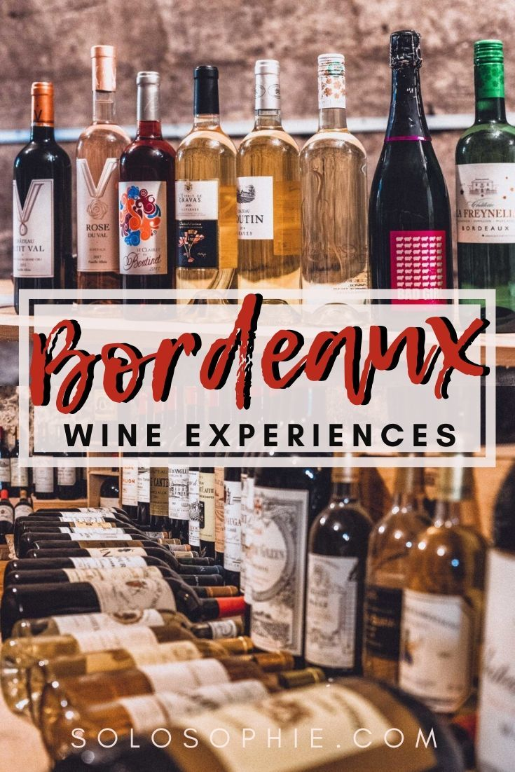 Bordeaux wine experiences: wondering how to go wine tasting in Bordeaux? here's your complete guide and itinerary as to the best wine in the South West France city