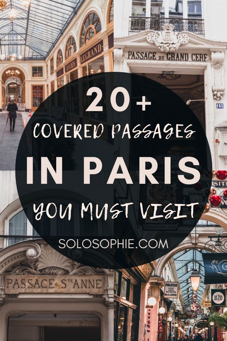 Looking for how to spend a bad weather day in Paris? Here's your ultimate guide to the offbeat and hidden and secret covered passages of Paris (18th and 19th century Parisian arcades)