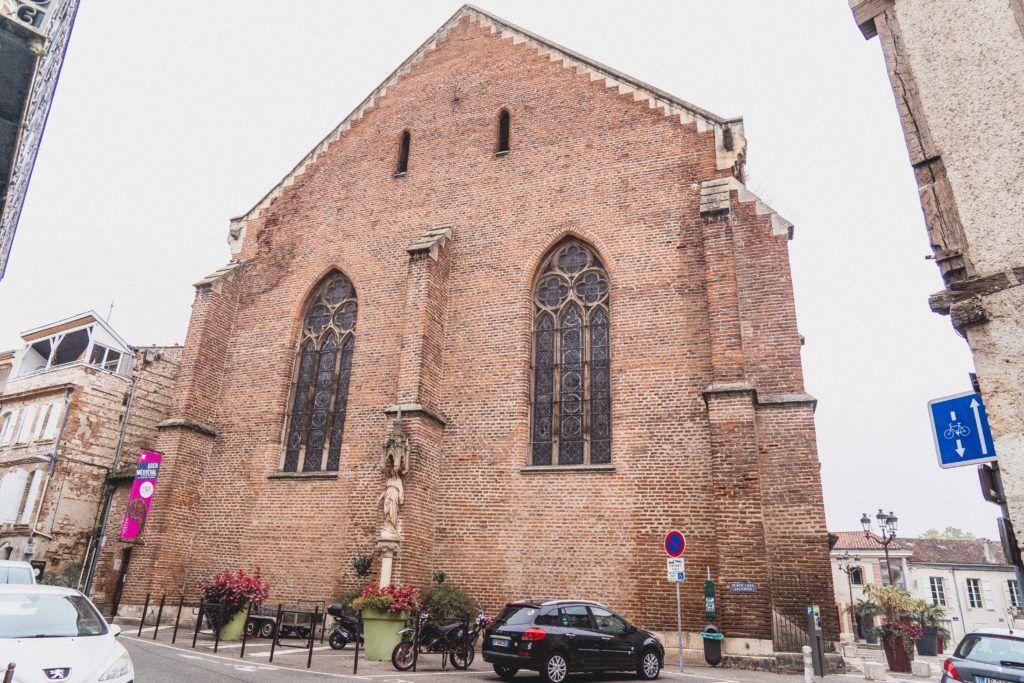 Eglise Notre Dame des Jacobins, Agen, Lot-et-Garonne, France