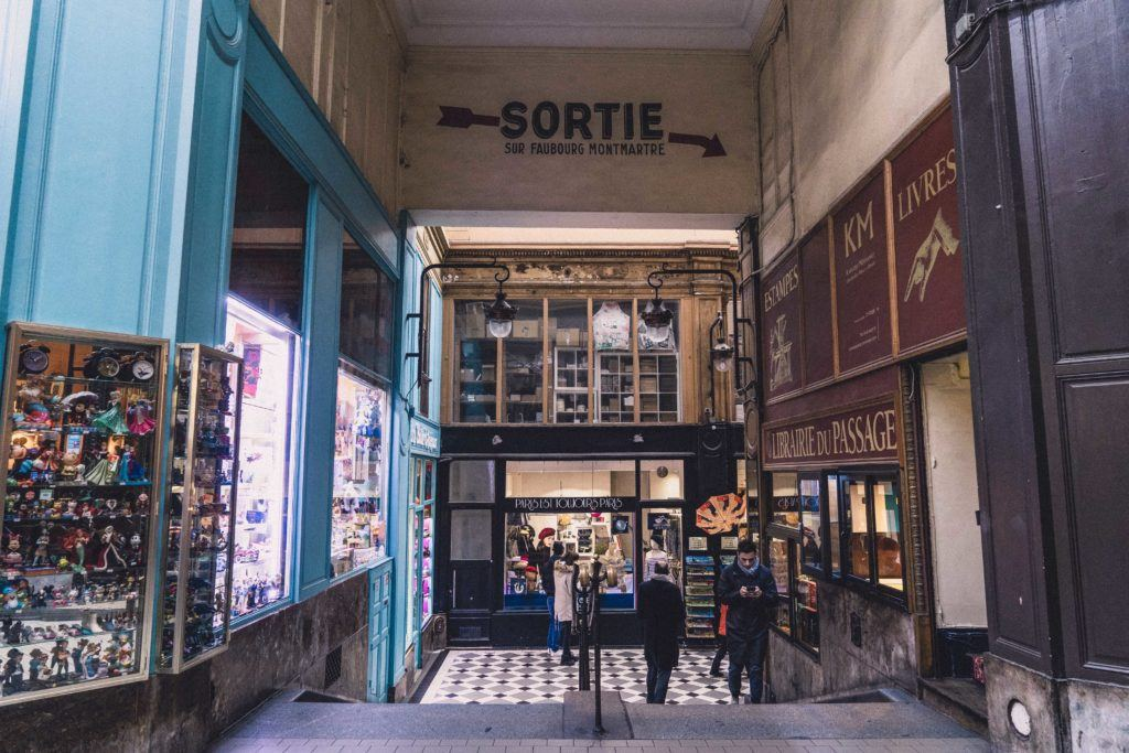 Passage Jouffroy: A Historic Arcade in the 9th Arrondissement of Paris, France. Where to buy old canes, vintage toys and rare books in the French capital