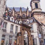 Hôtel de Royaumont: The Mansion Masquerading as a Clothes Shop. Rue du Jour history and locations in the 1st arrondissement of Paris, France (Musee du Barreau, Eglise Saint Eustache)