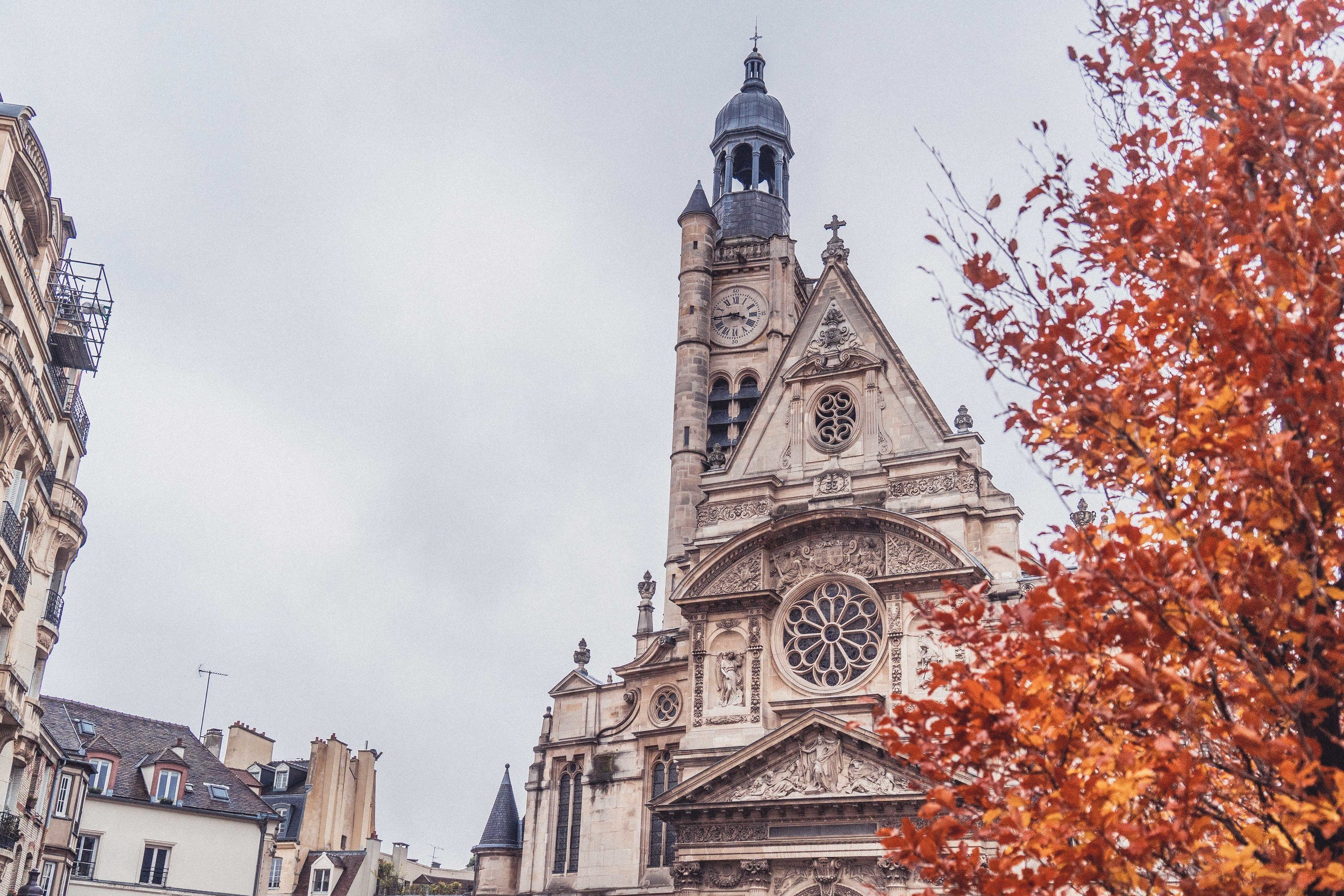 Saint-Étienne-du-Mont: Final Resting Place of Saint Genevieve in Paris, france