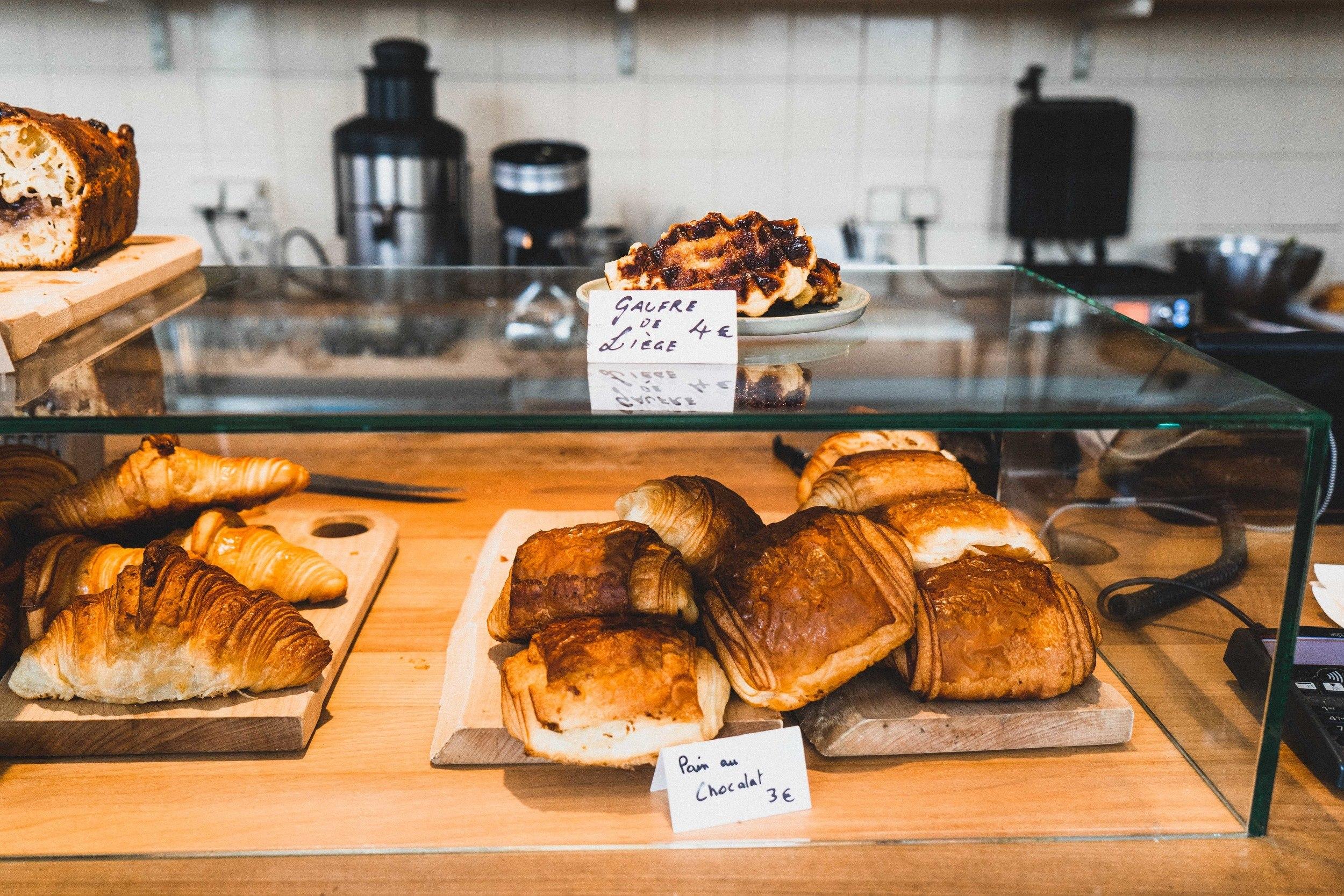 The Broken Arm Coffee Shop in Le Marais, Paris, France