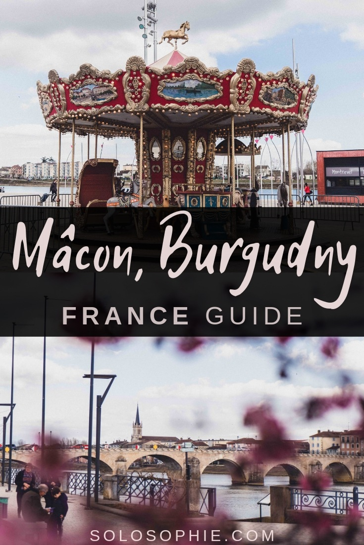 Here's why you need to visit the Burgundy city of Mâcon, France (Bourgogne in French). This pretty city is filled with timber-framed houses, pastel abodes, and has a Provençal feel. Here's your guide to the best things to do in Mâcon!