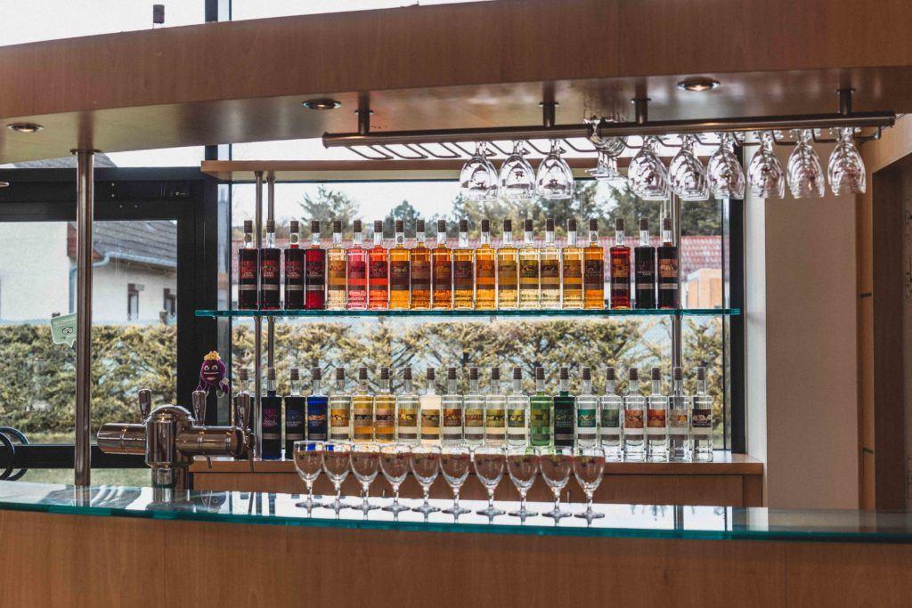 Le Cassisium bar for creme de cassis tasting