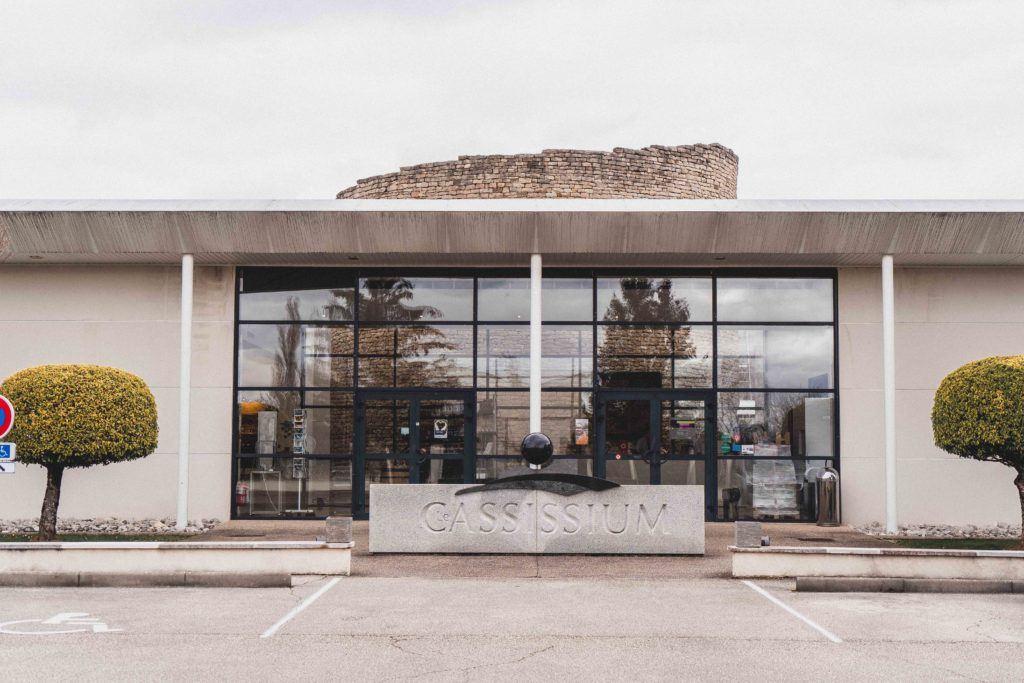 Le Cassissium building exterior