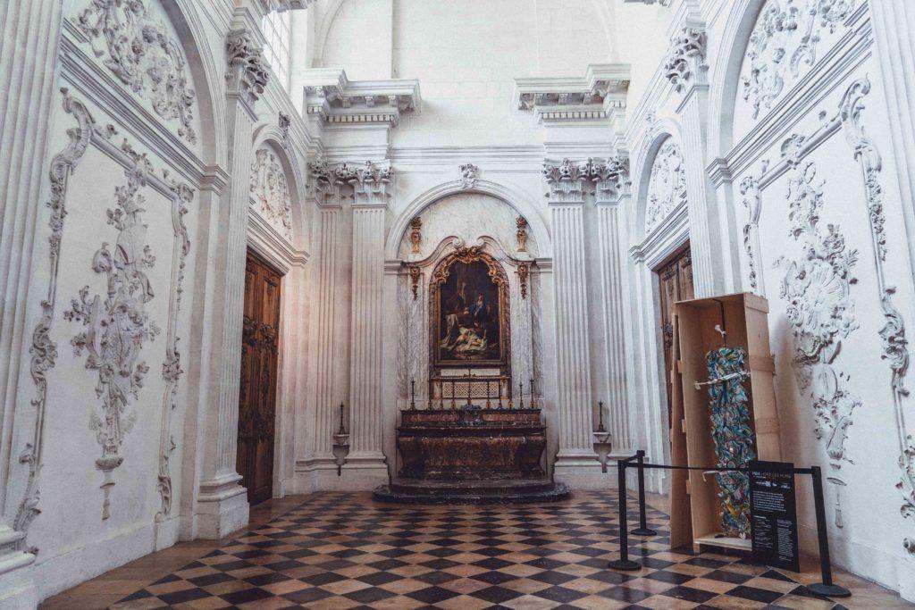 La Chapelle des Élus, interior, France