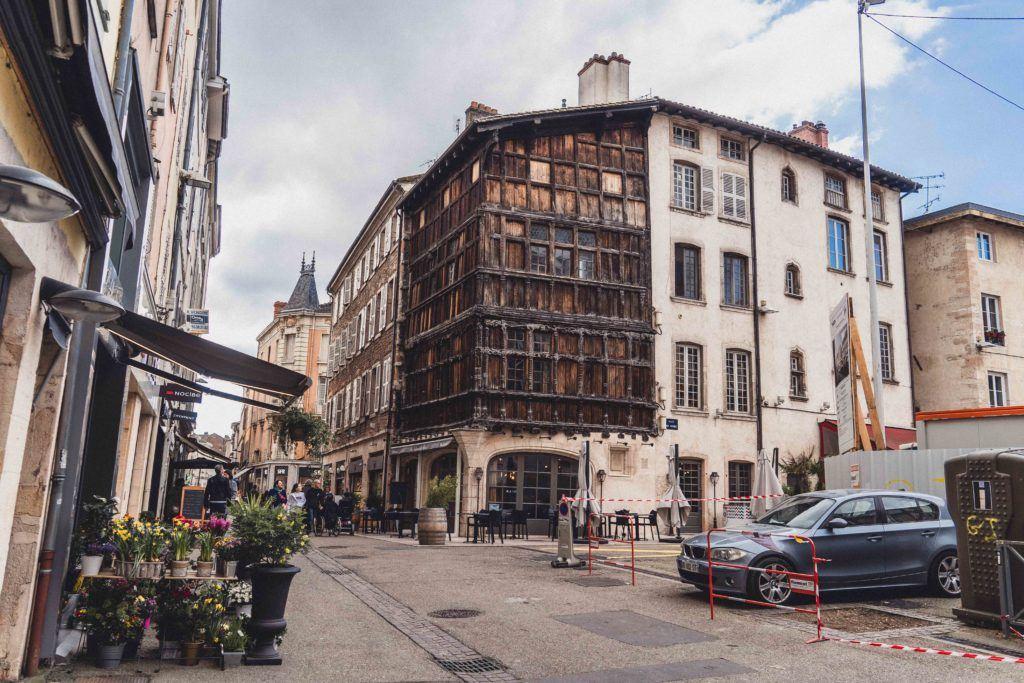 Maison de Bois (House of wood), 13 Place aux Herbes