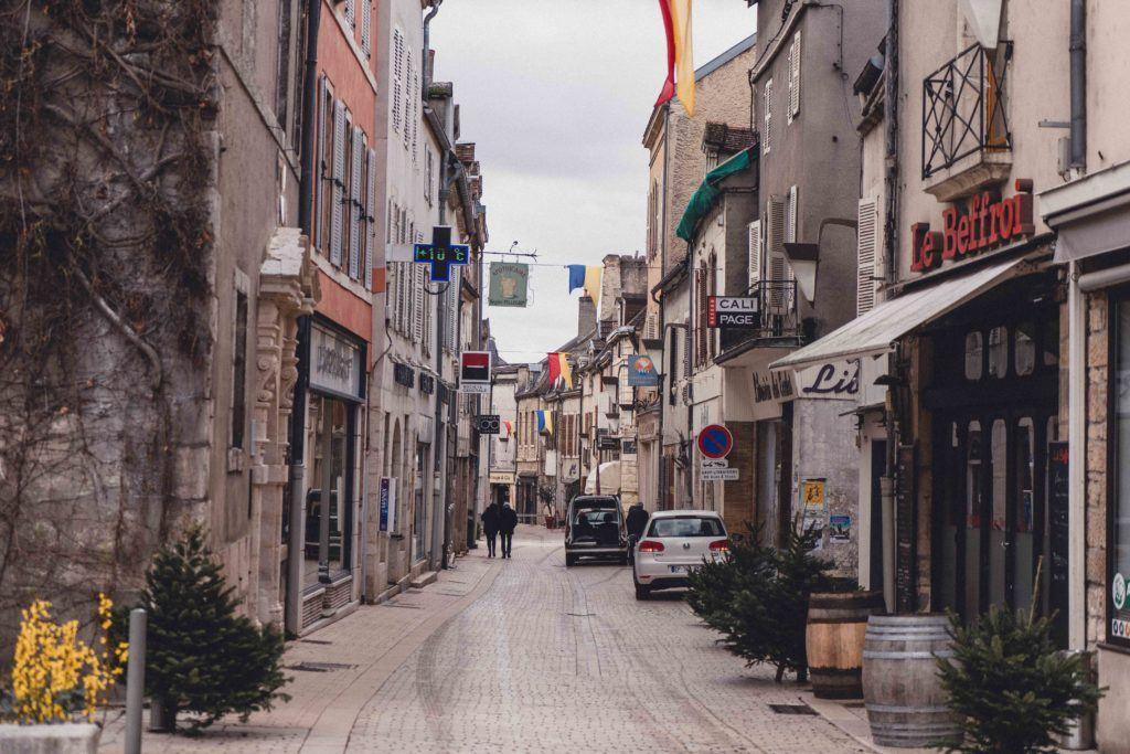 Nuits Saint Georges village centre