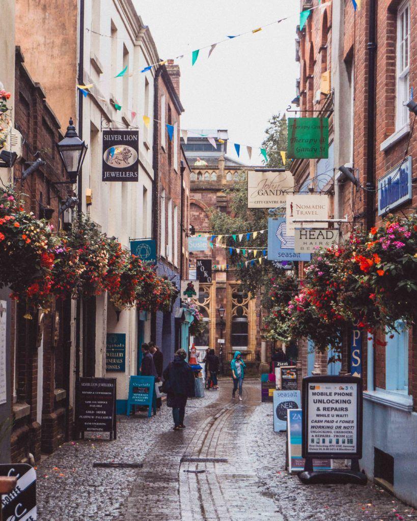 Gandy Street: The Little Exeter Road That Time Forgot in Devon, England