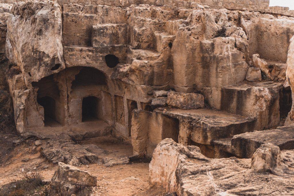 tombs of the kings, cyprus