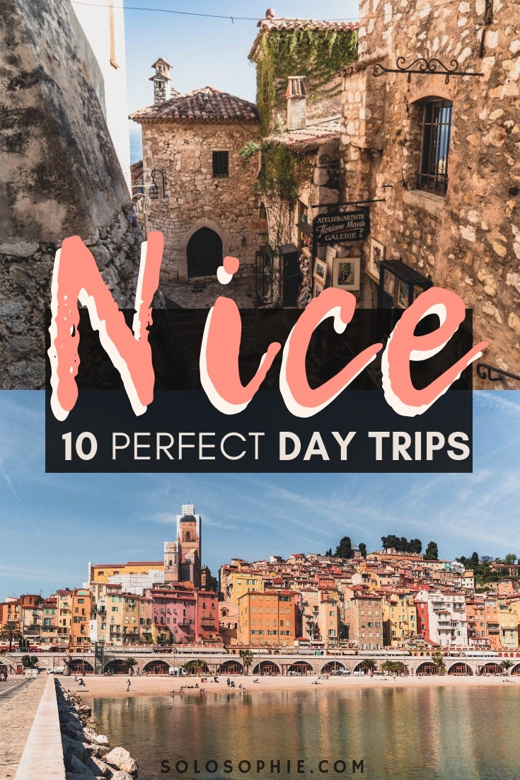 10 Charming & Mediterranean-Inspired Day Trips from Nice you'll want to take while along the French Riviera in South of France (Biot, Antibes, Grasse, Cannes, and more!)