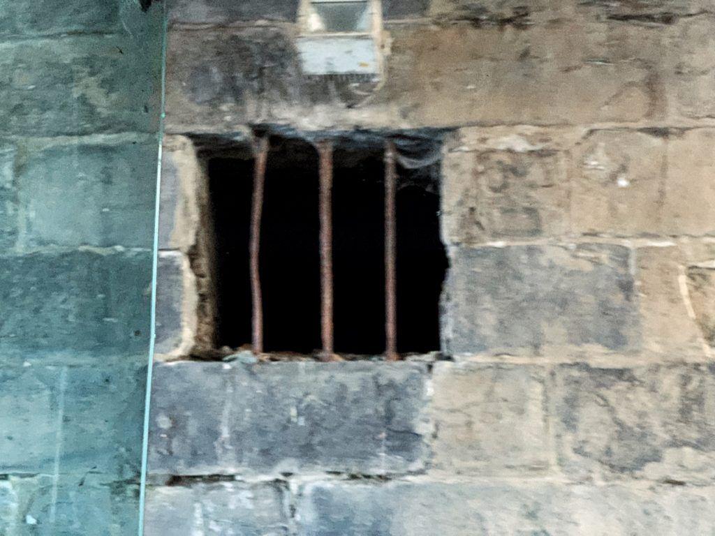 Smallest prison in Ghent, Belgium