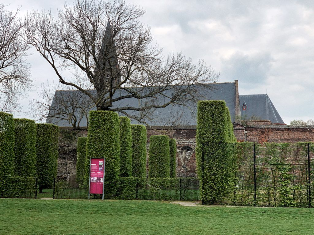 Soak up the ambience of a former abbey in Coyendanspark Ghent