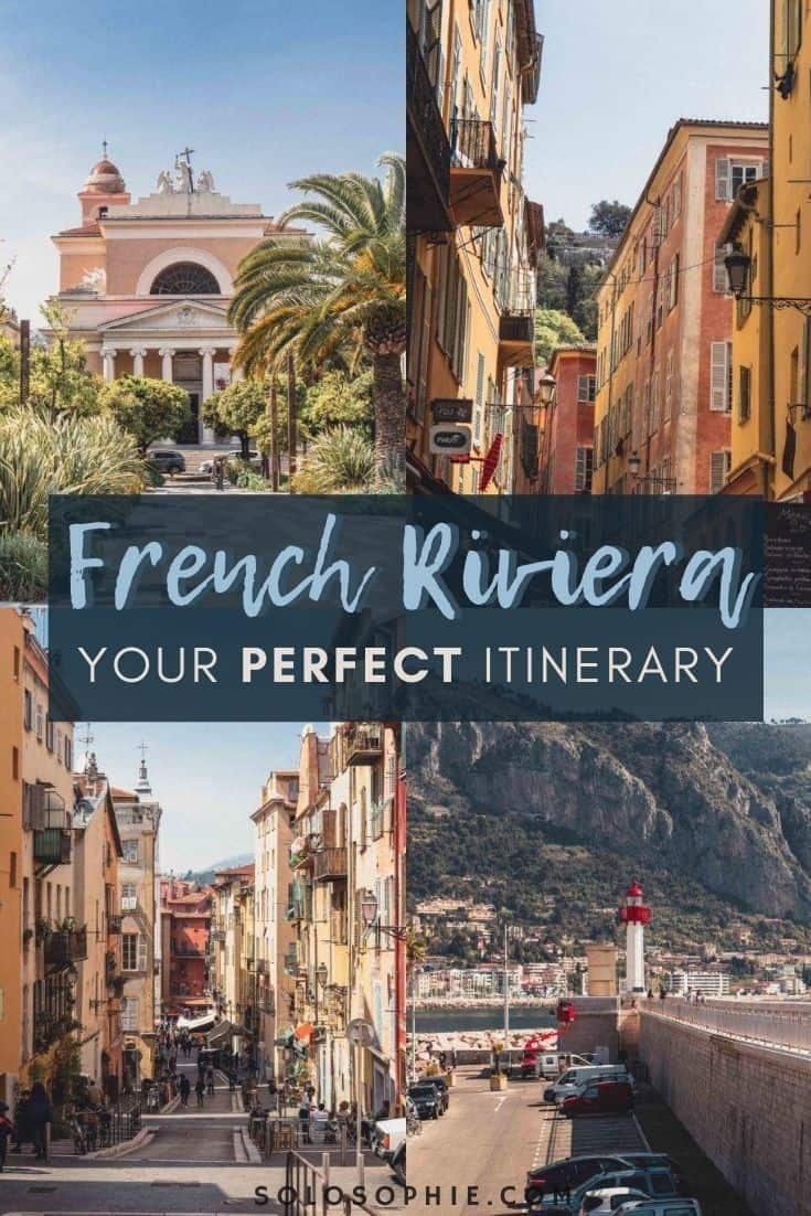 Best of the French Riviera/ Cote d'azur/ A 3 Day French Riviera Itinerary You'll Want to Steal!
