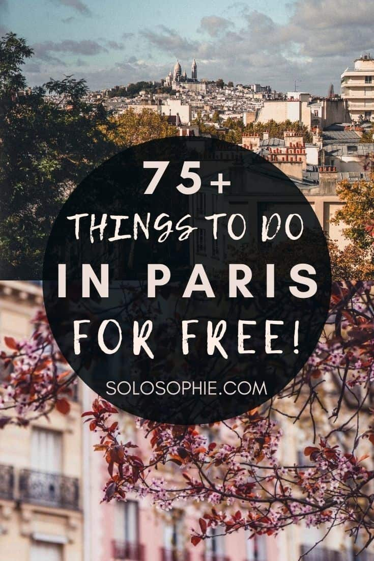 Budget Europe/ best of Paris for france for low cost. Free things to do in Paris!