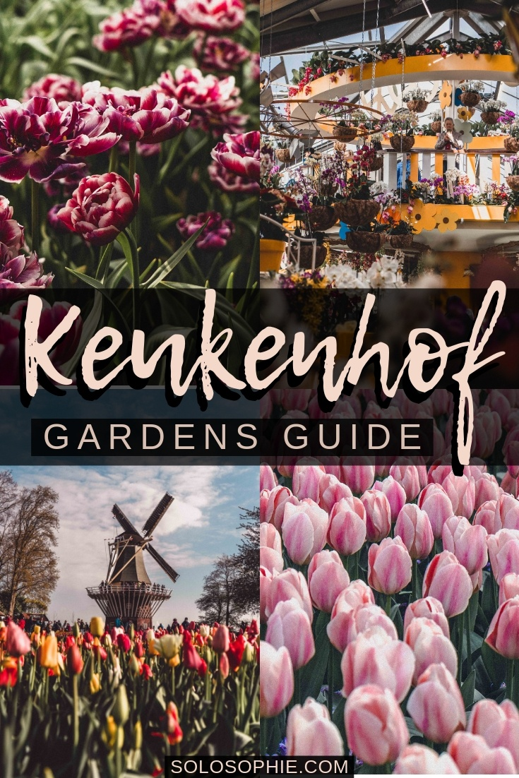Keukenhof Gardens guide: Here are all of the best things to do at Keukenhof, as well as free tulip fields in the Netherlands and how to take a tulip day trip from Amsterdam!