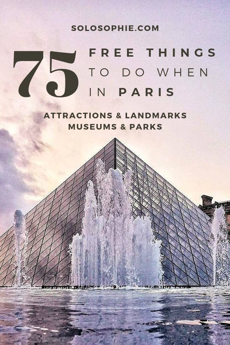 Looking for the best of free activities in the City of Love? Want to see Paris on a budget? Here's your complete guide to the best of Free Paris!