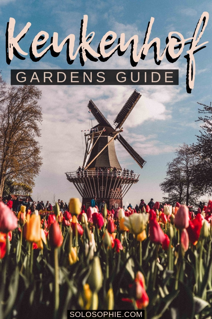 Looking to enjoy the best of Dutch tulips in the spring? Here's how to Visit Keukenhof, the Garden of Europe as a day trip from Amsterdam in Holland, the Netherlands