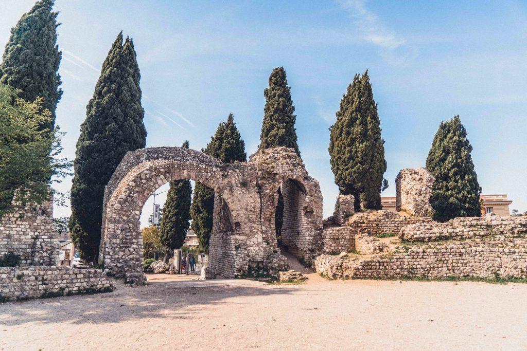 Arènes de Cimiez (Roman Cimiez Amphitheatre) in Nice, France