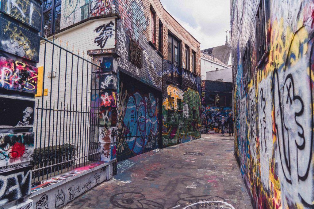 Ghent Graffiti Street (Werregarenstraatje)