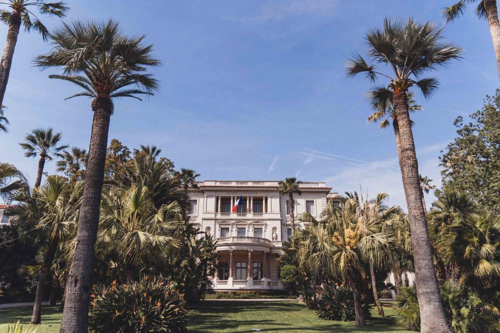 Légion d'Honneur Garden on a sunny day in Nice