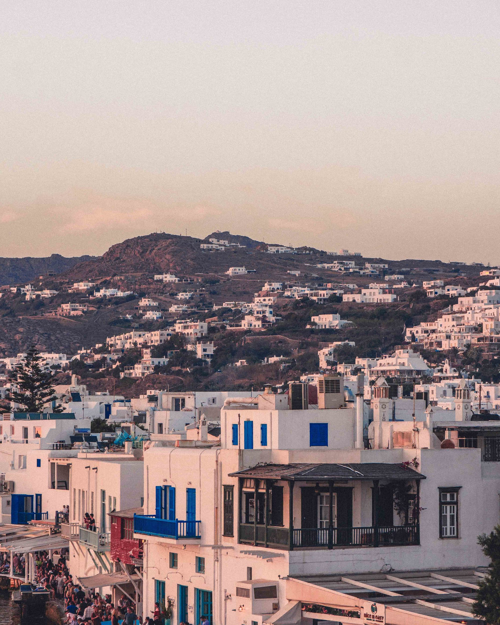 Here's your ultimate guide for how to spend one magical day in Mykonos, a sample travel itinerary for day trips from Mykonos and things to do on the island in Greece