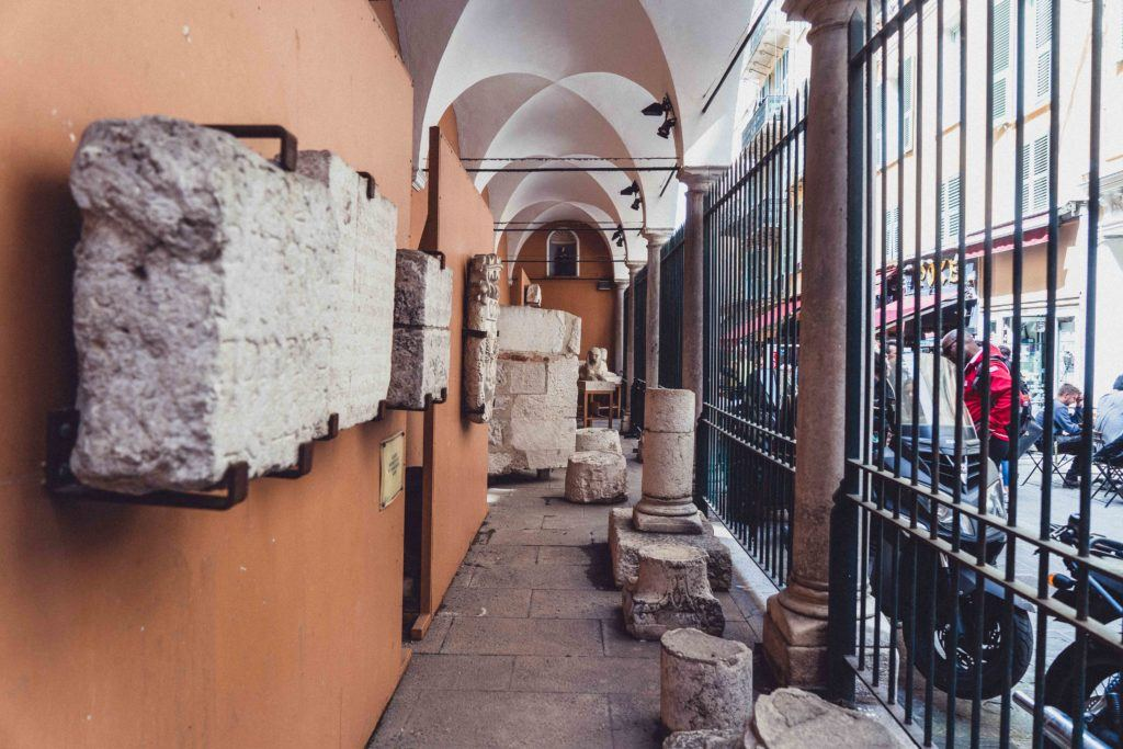 Loge Communale in old town Nice, France