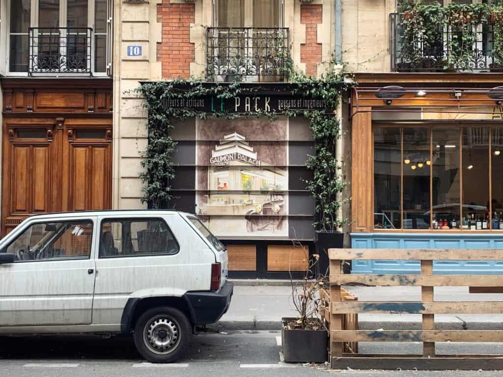 vintage poster shutters of rue Cavalotti