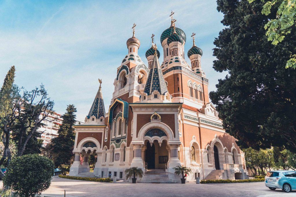 St Nicholas Russian Orthodox Cathedral of Nice