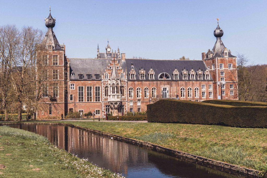 A beautiful castle on the fringes of Leuven, Belgium