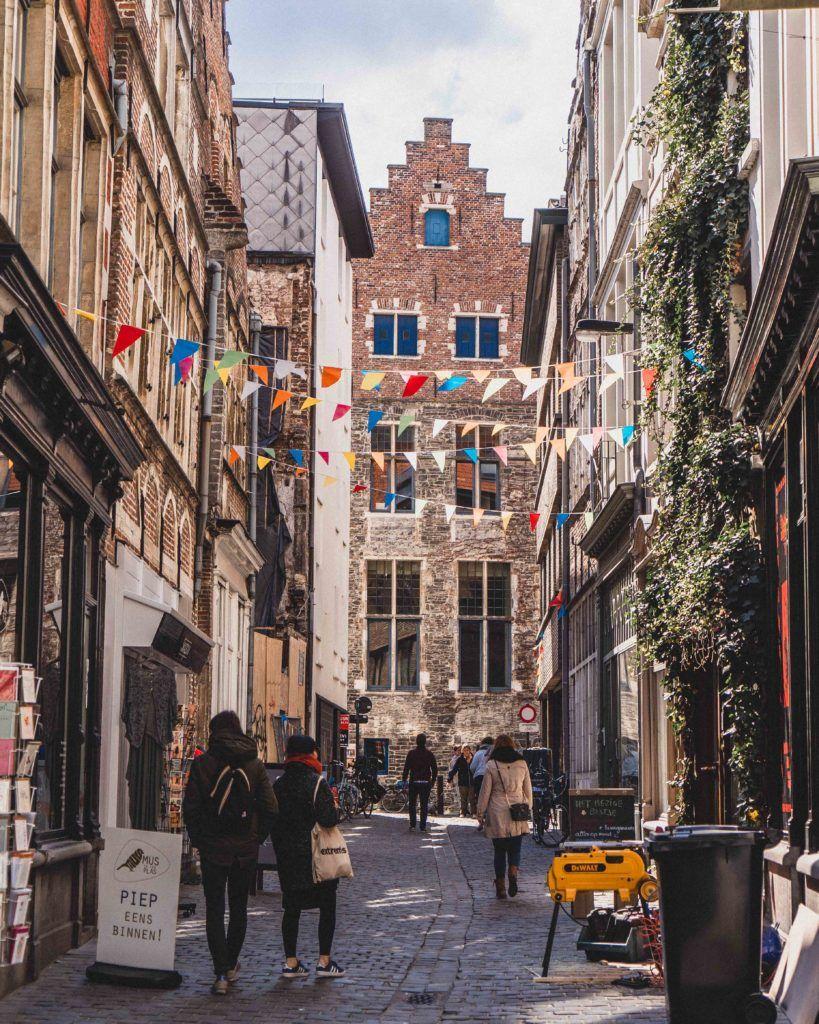 Serpentstraat: Is this the most beautiful street in Ghent, Belgium?