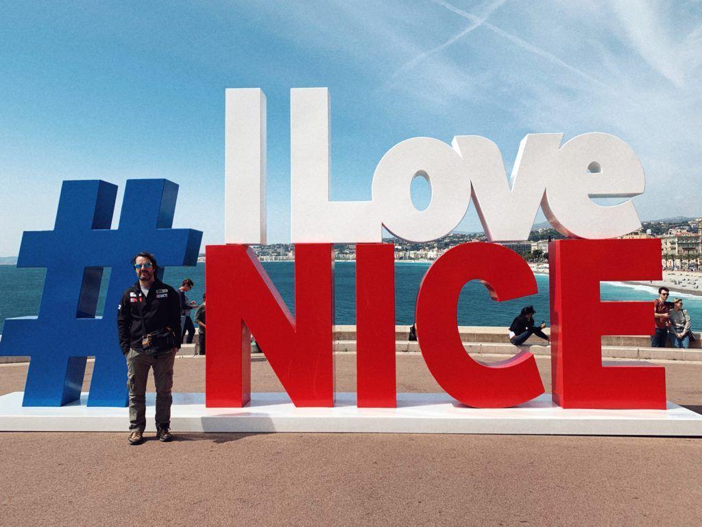 #ILoveNice Sign