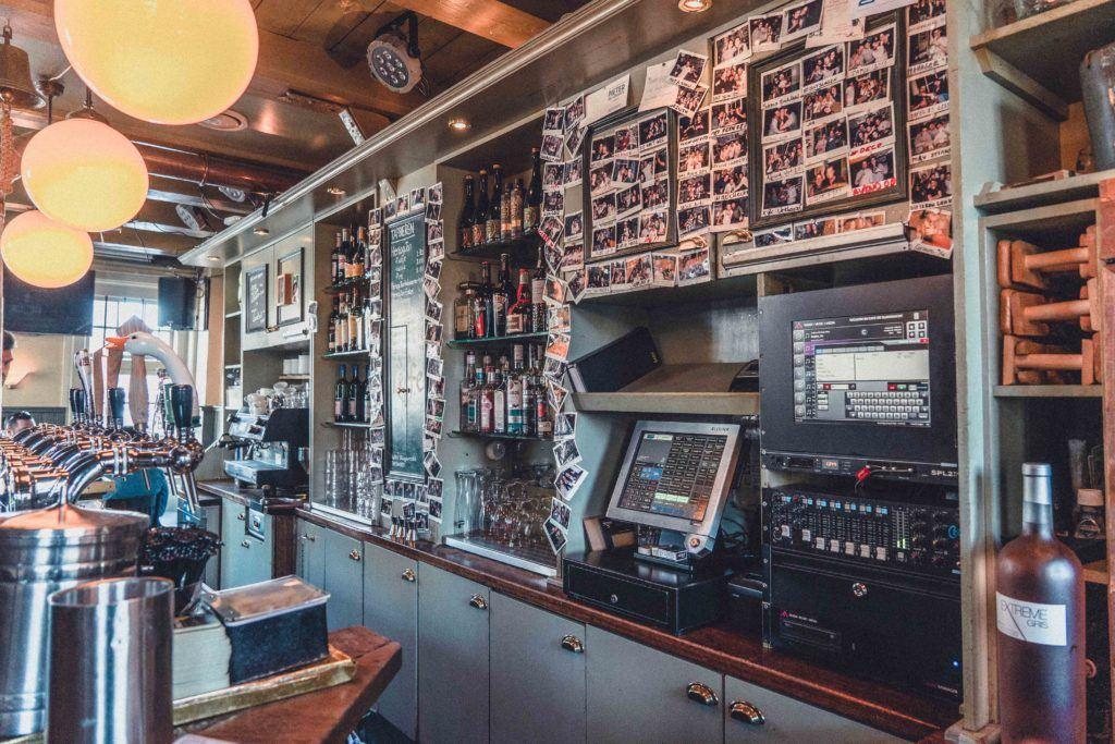 Cafe de Sluyswacht bar in Amsterdam