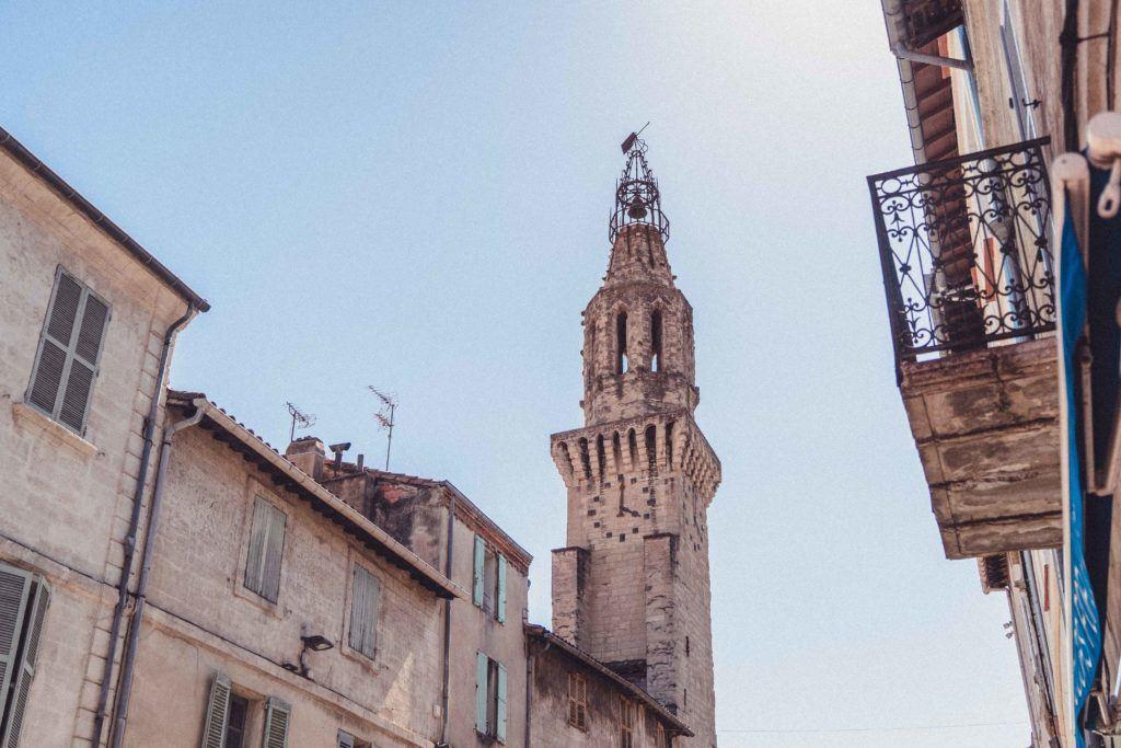 Clocher des Augustins bell tower in Avignon