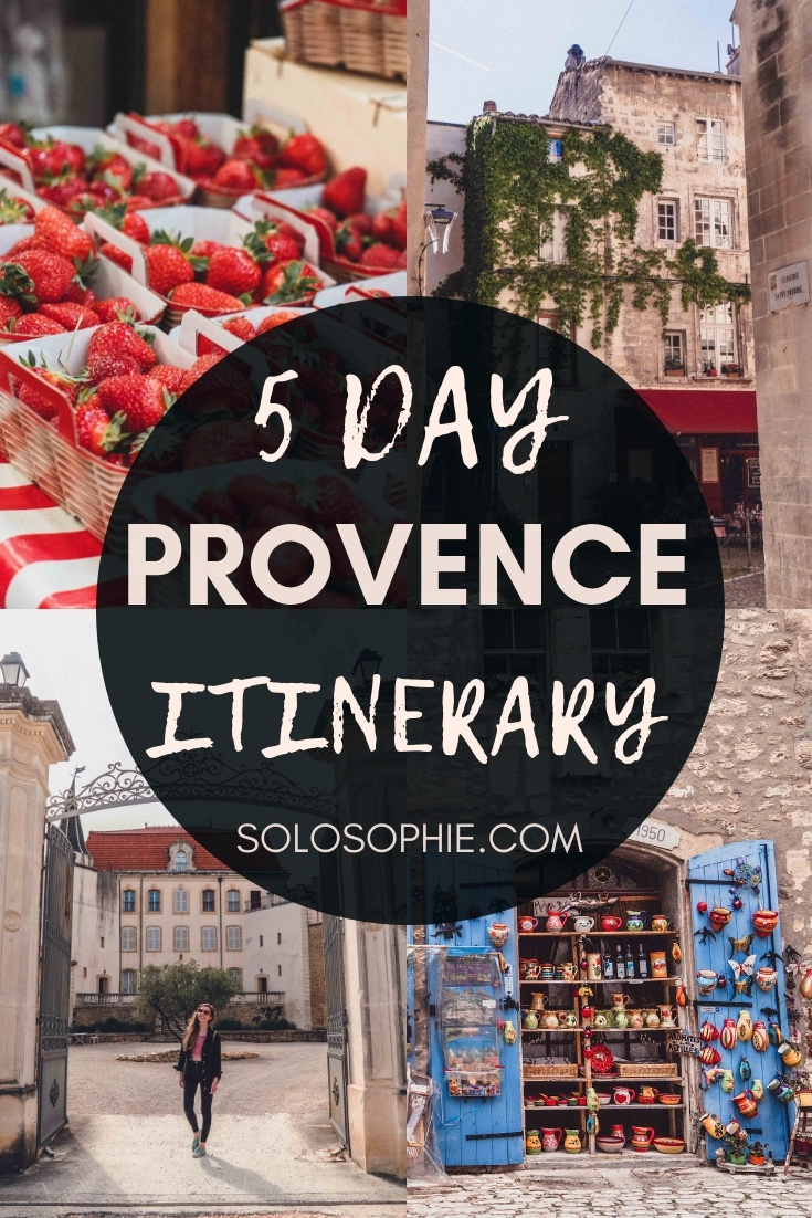 How to spend 5 days in Provence: an itinerary and guide for the perfect 5 days in Southern France; Aigues-Mortes, Avignon suggestions, Villeneuve-Les-Avignon, Chateauneuf-du-pape