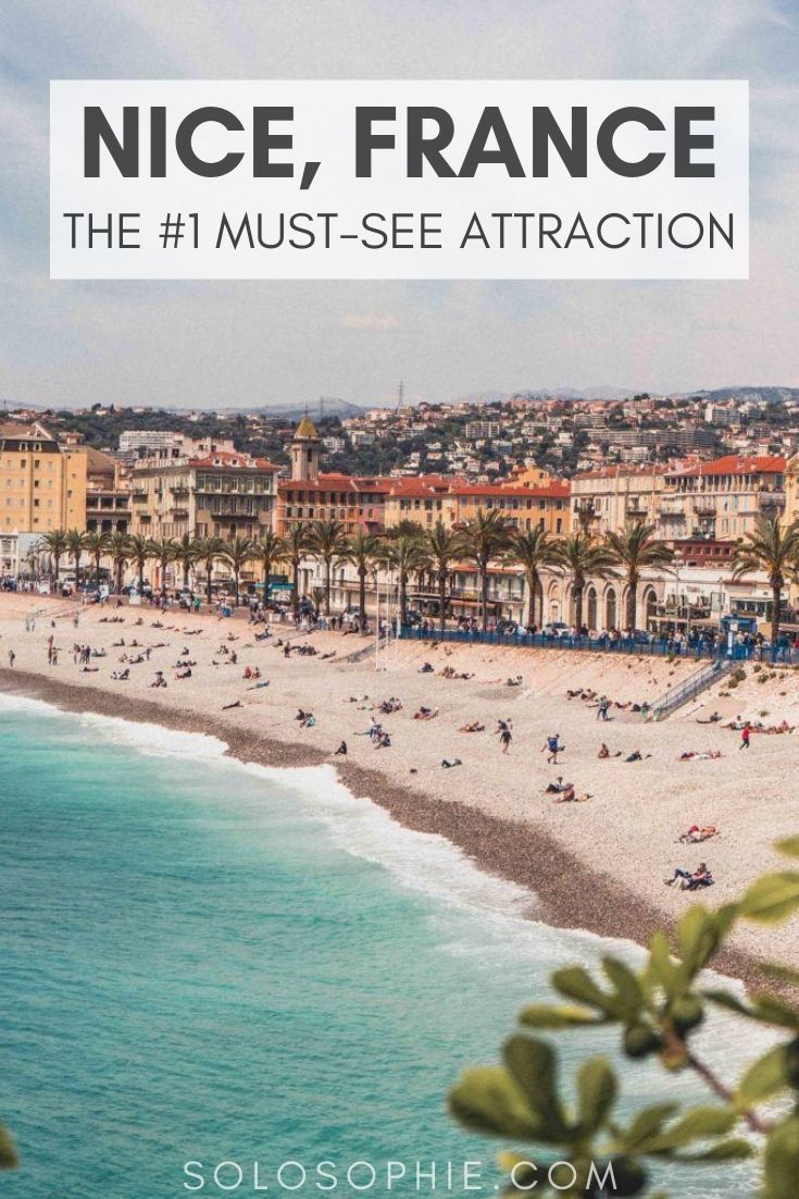 Looking for the best of Nice France? Here's your ultimate guide to enjoying the Promenade Anglais, the top thing to do in this beautiful South of France city!