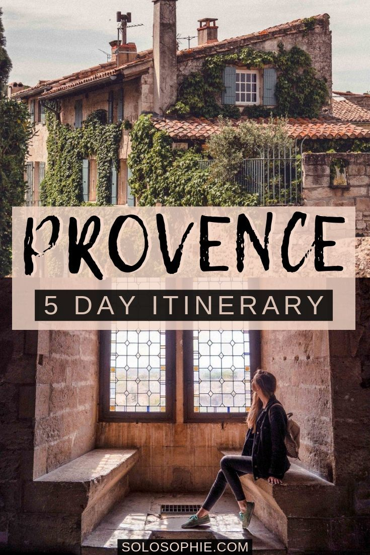 Looking for the perfect Provence and Southern France itinerary? Here's your ultimate guide on how to visit the best of Provence in 5 days, including Châteauneuf du Pape and Les Baux de Provence