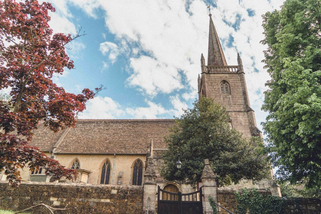 St Cyr's Church atStinchcombe in the Cotswolds